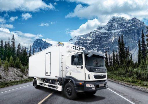 DAEWOO 8 tấn thùng đông lạnh – bảo ôn – tải kín